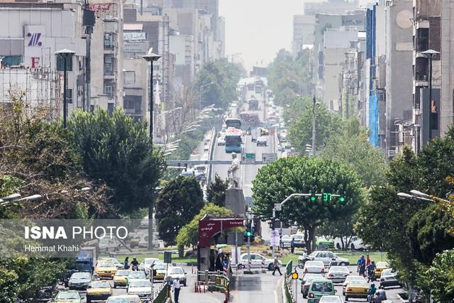 هوای تهران در محدوده شرایط سالم و ناسالم برای گروه های حساس
