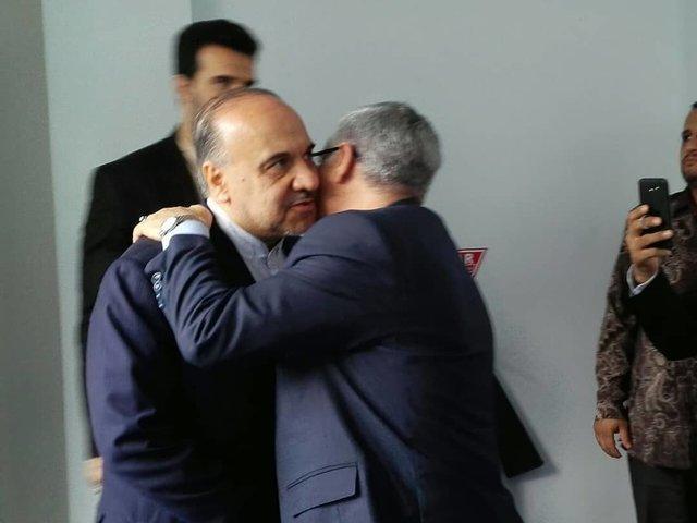 تفاهمنامه همکاری بین وزیر ورزش ایران و اندونزی در بازی های پاراآسیایی