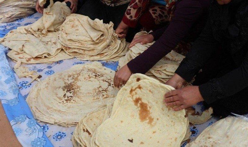 90 درصد نان ها در ایران نان سفید است ، نانی بدون ارزش غذایی