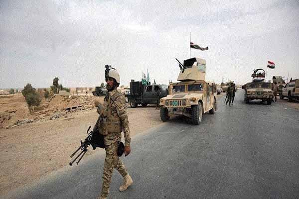 ورود 600 نظامی عراقی به استان نجف اشرف