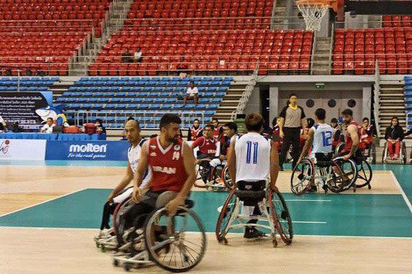 تیم ملی بسکتبال با ویلچر ایران برابر میزبان به فزونی دست یافت