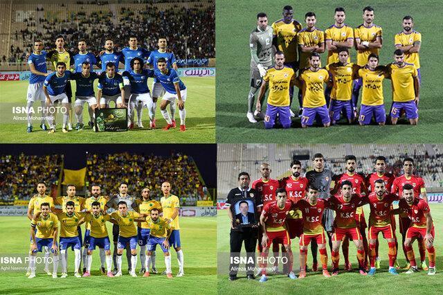 تیم های خوزستانی لیگ برتر فوتبال در راستا موفقیت