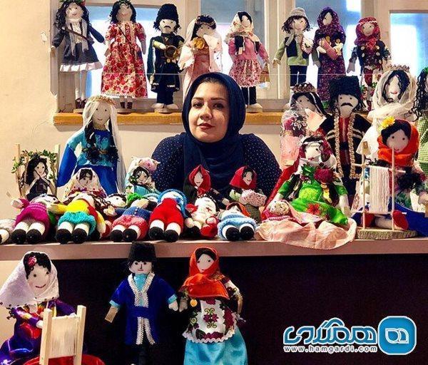 عروسک ها سفیران فرهنگ و هنر تبریز می شوند